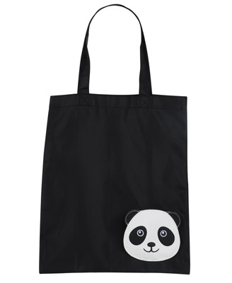 Happy Panda Tote Bag, $5.80
