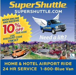 We offer 43 promo codes and 23 deals of Super Shuttle, which have been used by many customers and helped them save a lot. You can also save as much as you can with AnyCodes Super Shuttle Discount Codes & deals. The list will be updated when our editors find any new promo codes or deals.