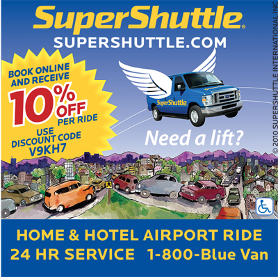 Coupon super shuttle