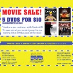 DVD Funhouse Coupon