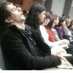 James Franco asleep in class, he&#039;s just like the rest of us!