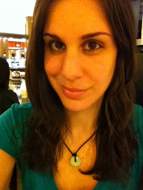 My favorite purchase of the trip: a Jade necklace. It's very special and something I will treasure forever.