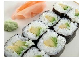 Image Credit: http://fruitguys.com/almanac/2011/05/05/roll-your-own-how-to-make-vegetarian-sushi