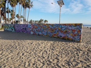 Right off the Santa Monica-Venice bike path. Taken by Jainita Patel.