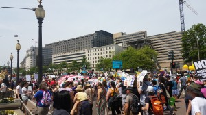Earth Day March in D.C. Taken by Jainita Patel.