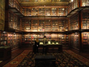 The Morgan Library and Museum.  http://www.thegildedowl.com/