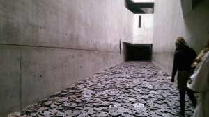 Art Installation at the Jewish Museum in Berlin.  Taken by Jainita Patel
