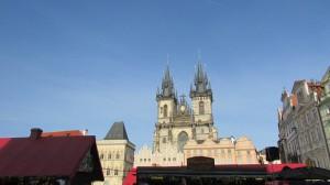 View from Old Town Square. Taken by Jainita Patel.