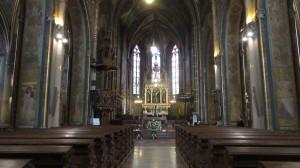 Inside Saint Peter and Paul Basilica in Vyšehrad. Taken by Jainita Patel.