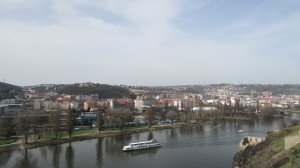 The view from Vyšehrad.  Taken by Jainita Patel.