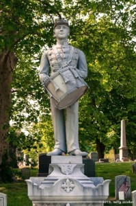 Civil War Memorial at Green-Wood Cemetery. http://sallyminker.com/