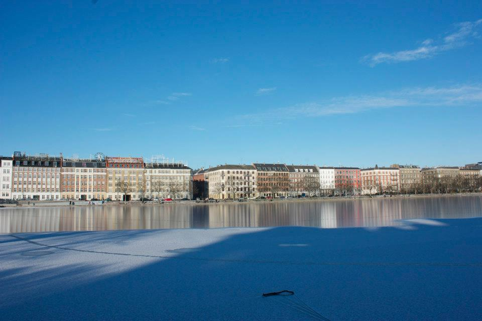 Copenhagen landscape.