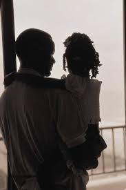 black father daughter
