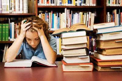 stressful college