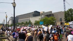 Earth Day March in D.C. Taken by Jainita Patel.
