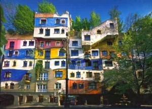 Hundertwasserhaus http://photos.wikimapia.org/