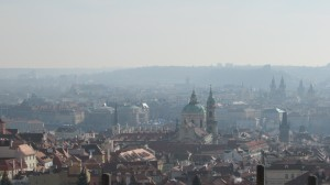 View from Starhov Monastery. Taken by Jainita Patel